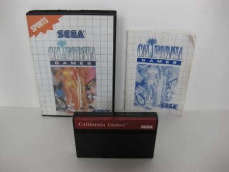 California Games (CIB) - Sega Master System Game
